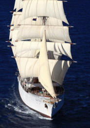 Exclusive Tall Ship and Sail Training Vessels photographs by Jean Jarreau