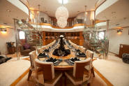 Exclusive mega yacht interior pictures