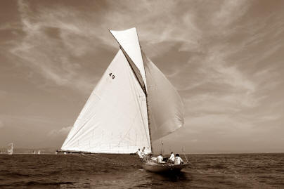 Classic Yacht Photographs by Jean Jarreau