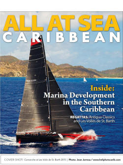 All At Sea cover by Jean Jarreau Exclusive Yachting Photography