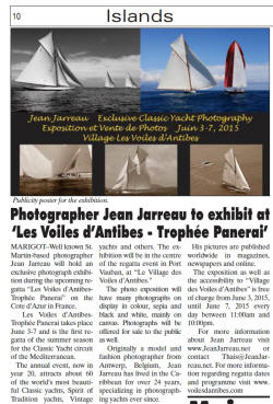 Les Voiles d'Antibes Jean Jarreau Photography